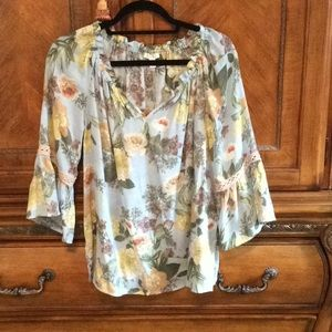 Flowered top size s/p